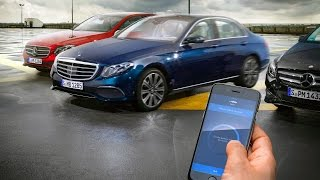 New E-class w213 Remote Parking Pilot