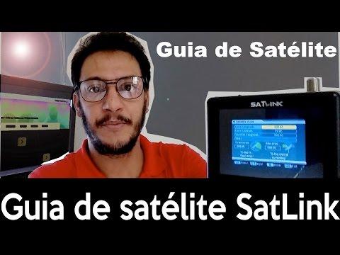 Guia de Satélite do SatLink WS6906 Como Usar - GPS Pezquiza com