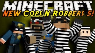 Minecraft Mini-Game : THE NEW COPS N ROBBERS ROUND 5!