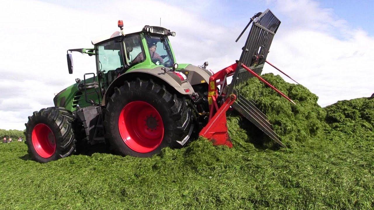 Gr U00e6sland 14  Fendt 936 And John Deere 8335r Tractor