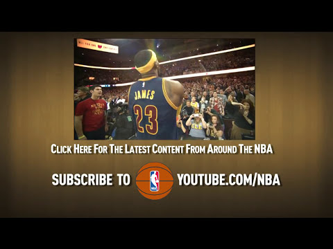LeBron No-Look-Behind-the-Back Pass to Varejao