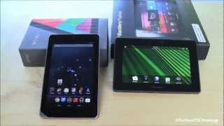 Nexus 7 vs Blackberry Playbook