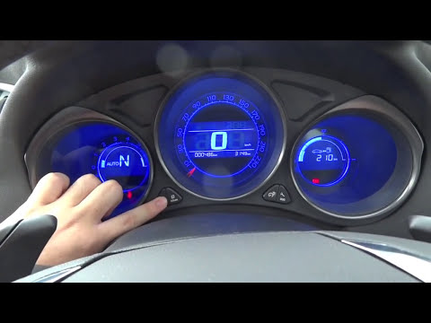 2012 Citroen C4 Exclusive Start-Up and Full Vehicle Tour