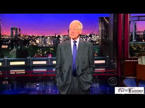 David Letterman jokes about Obama spying on reporters