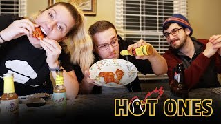 Taste Test: Trying Hot Ones Hot Sauce | The Last Dab!