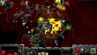 Let's Play Warcraft 3 Frozen Throne #024 German - DotA & DotB - HD