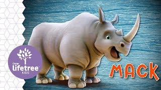 Mack the Rhinoceros | Buzzly's Buddies | Roar VBS
