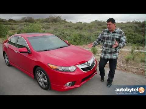 2012 Acura TSX Test Drive & Luxury Car Video Review