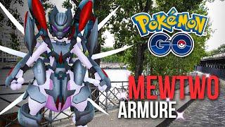 CAPTURE DE MEWTWO ARMURE 100% ! 6 RAIDS ! - Pokémon GO