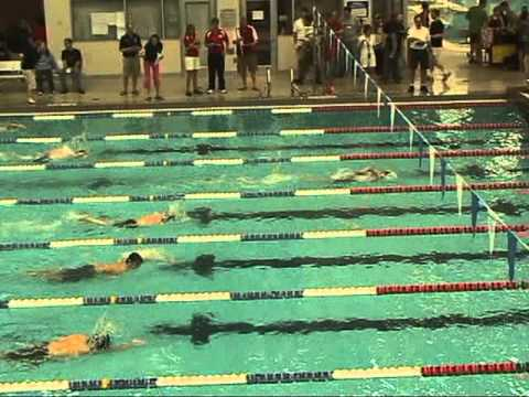 100 Freestyle, District Swim Meet