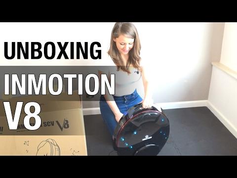 UNBOXING odc. 3: InMotion V8 - jeżdżące koło