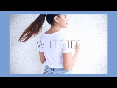 Top 5 White Tee #DEBTEMBER Day 14