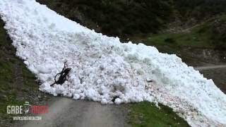 "AMAZING ""RIVER OF SNOW"" IN AUSTRIA JUNE 3, 2013"