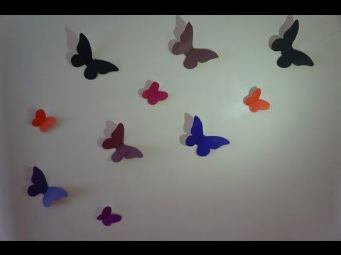 Оформление бабочками своими руками