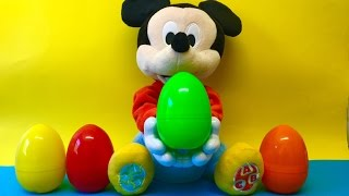 Funny Mickey Mouse throw Surprise Eggs