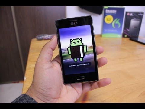 Software On LG Optimus L5