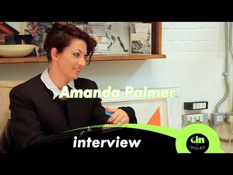Amanda Palmer - Interview @ GinInTeaCups.co.uk