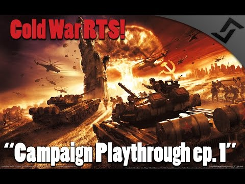 World in Conflict - Cold War RTS - Campaign Mission 1