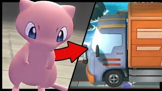 What Happens If You Bring MEW to the TRUCK In Lets Go Pikachu And Eevee?