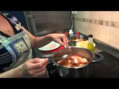 Recetas de cocina MANITAS DE CERDO estilo cubano