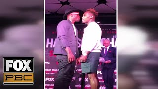 Jermell Charlo reacts to heated press conference with Tony Harrison | PBC ON FOX