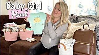 HUGE BABY HAUL! CLOTHING & MORE FOR BABY #3 🍼