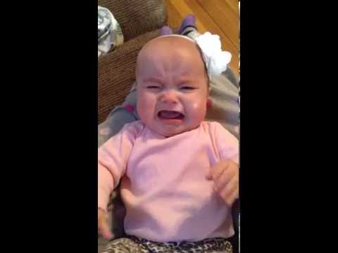 Baby stops crying immediately when she hears Taylor Swift