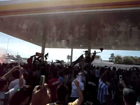 Indio Solari Tandil 2010 - Previa en la Shell