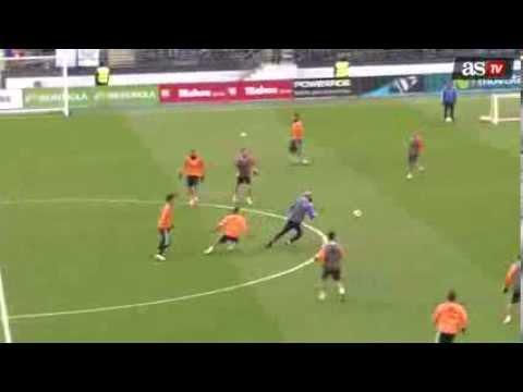 Still got it! Zinedine Zidane magic on Real Madrid training