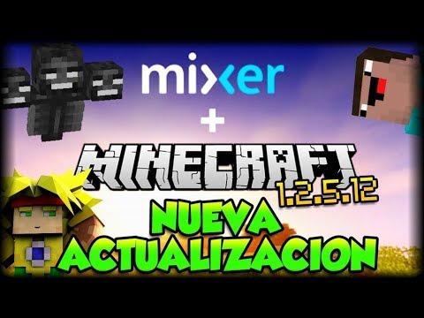Nueva Actualizacion de Minecraft 1.2.5.12 (Build 2) con soporte para Directos en Mixer - Tutorial