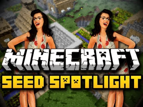 Minecraft Seed Spotlight #13 KATY PERRY IS DANGEROUS HD