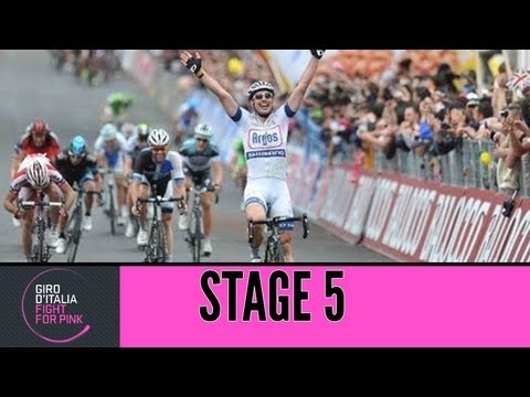 Giro d'Italia 2013 tappa/stage 5 Official Highlights