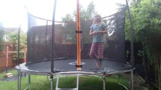 MY NEW 12ft TRAMPOLINE!!!!! | *Ruby**Does**Challenges*