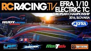 EFRA 1/10th ISTC Euros 2016 - Thursday Live!