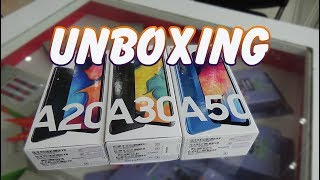 Unboxing Samsung Galaxy A20 | A30 | A50