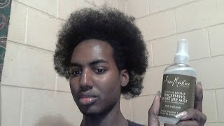 Shea Moisture Yucca & Baobab Thickening Moisture Mist Review