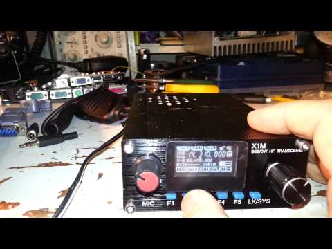 X1M PRO (Platinum) QRP HF Radio - Arrives in Australia!