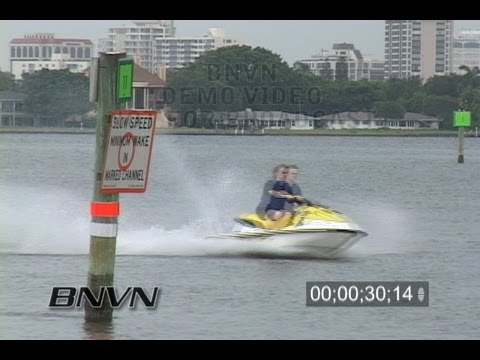 8/3/2006 Sarasota, FL Jet Skis Violation Video