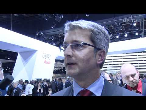 NAIAS Detroit 2008 Interview Rupert Stadler, Audi