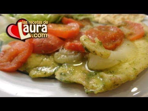 Filete de Pescado al Cilantro Comida Saludable Las Recetas de Laura