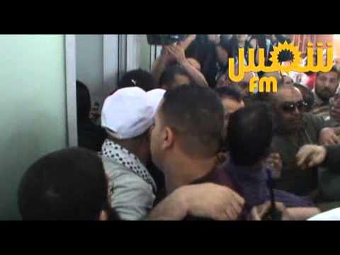 image vid�o وصول الداعية محمد حسان الى تونس