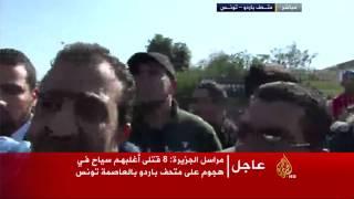 الاعتداء على مراسل الجزيرة في تونس حافظ مريبح