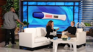 Ellen Meets Viral Pregnancy Test Couple Jahann & Charles Stewart