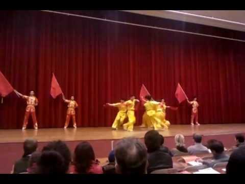 beijing sport university wushu team 7/7