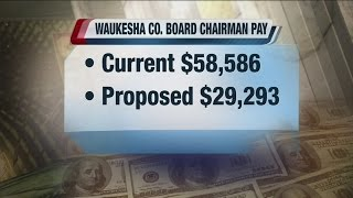 Waukesha County Board Chairman wants to cut his own salary in half