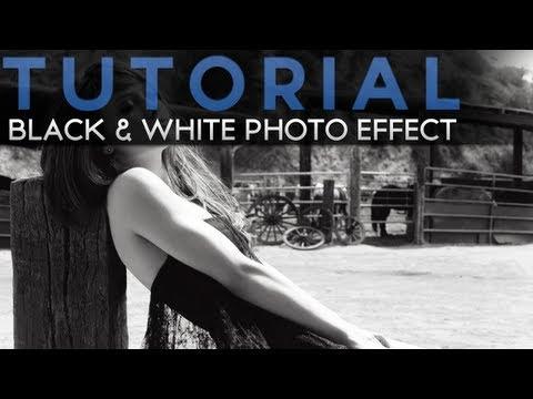 Tutorial Photoshop: Fotografie Alb-Negru