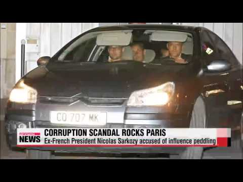 Ex-French President Sarkozy under corruption probe