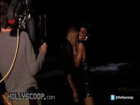 Nelly & Kelly Rowland 'Gone' Video Shoot - On Location In Cancun