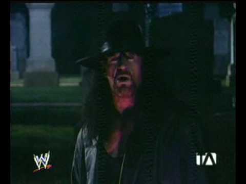 Undertaker scares Batista