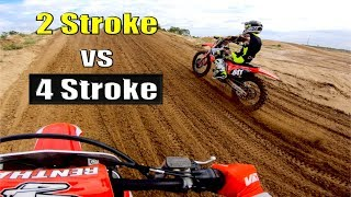 125 Two-Stroke vs 450 Four-Stroke: What's Faster?